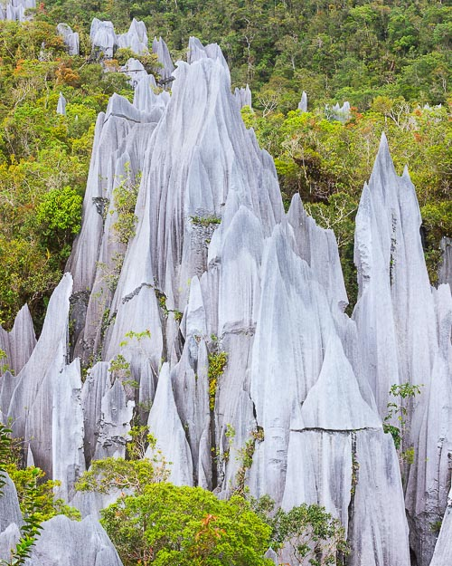 pinnacles borneo
